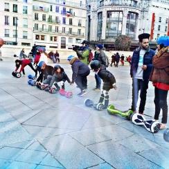 Randonnées hoverboards balade