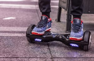 Animations en hoverboard