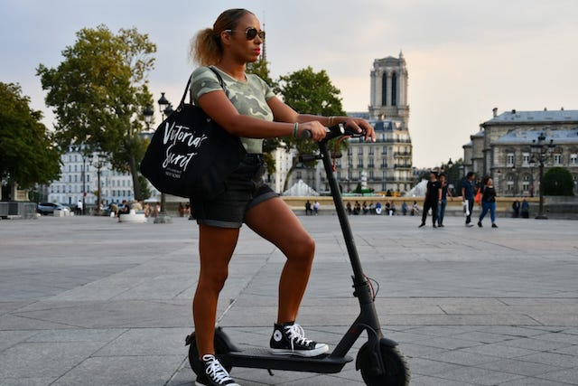E-trottinette Tour Paris